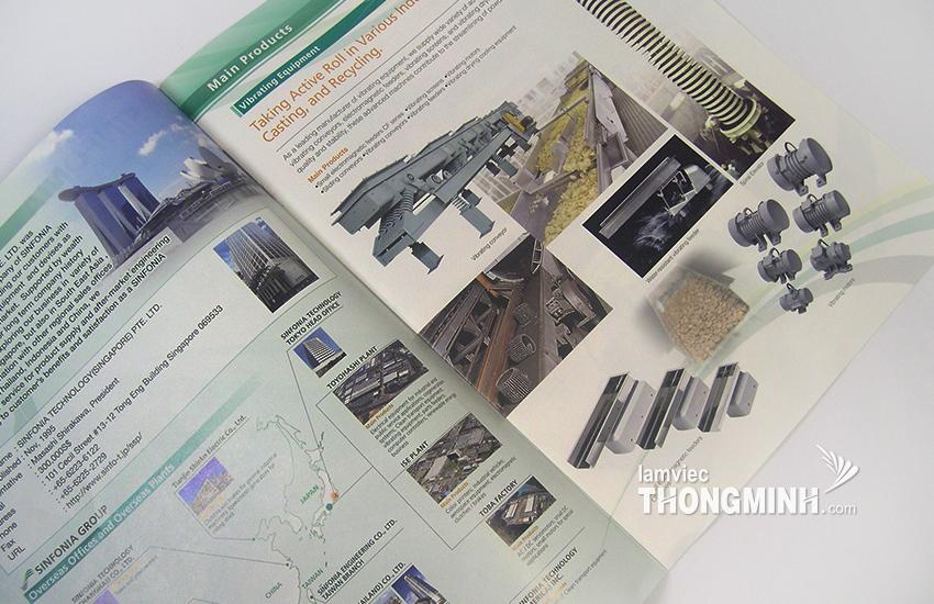 Mẫu Brochure - Profile 010