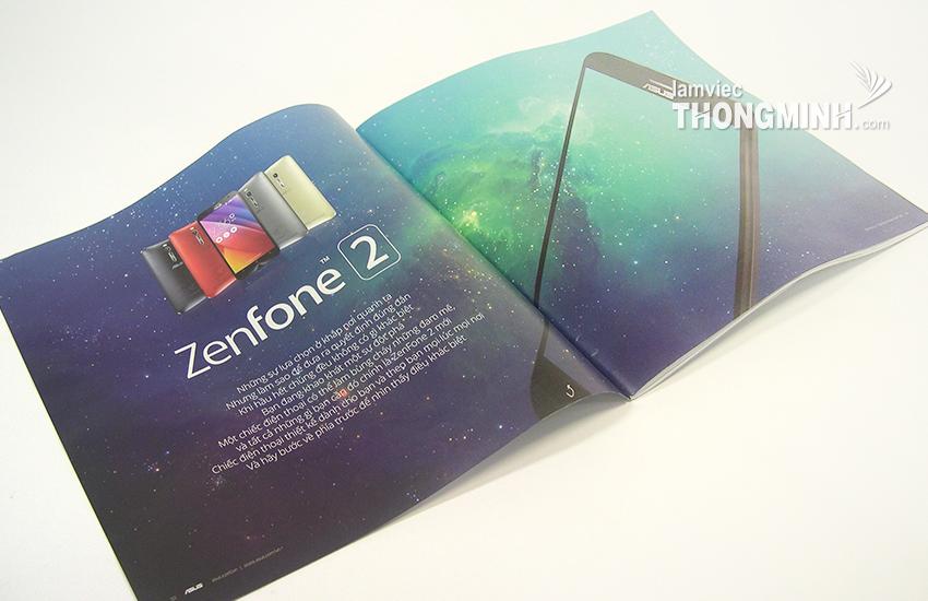 Mẫu Brochure - Profile 016