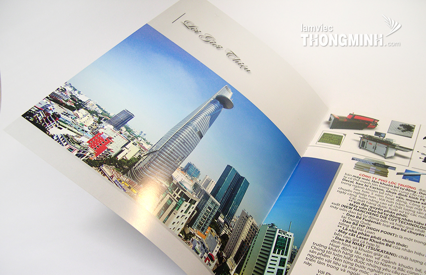 Mẫu Brochure - Profile 057